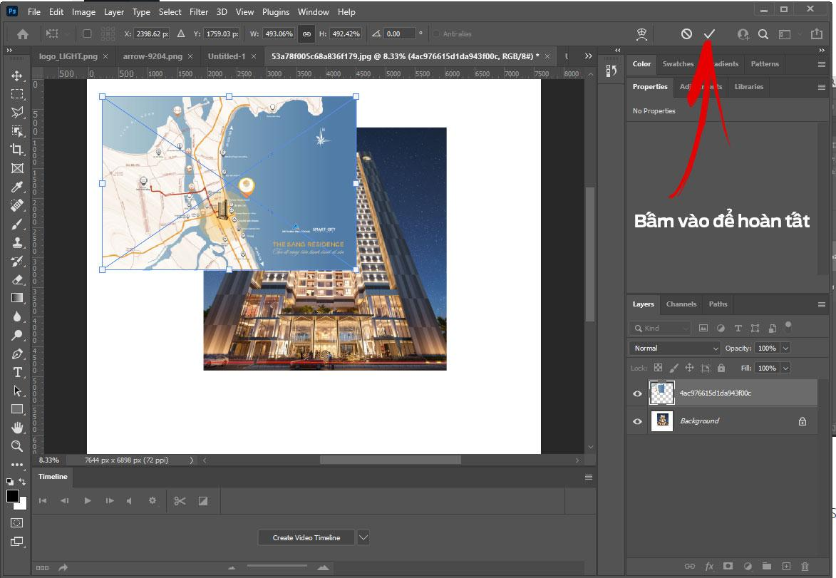layer6 Làm việc với các Layer Photoshop CC