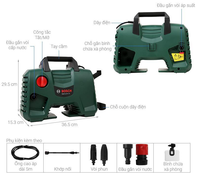 Bosch Easy AQT 120 1500W
