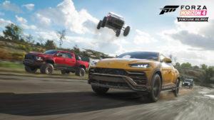 Forza Horizon 4 Fortune Island Lamborghini Urus 02 FH4: Fortune Island : Kho báu 10 triệu CR, nhiệm vụ và vị trí rương.